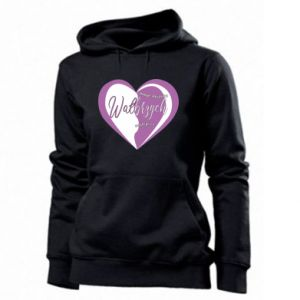 Women's hoodies Walbrzych. My city is the best