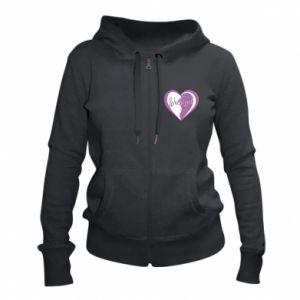 Women's zip up hoodies Walbrzych. My city is the best