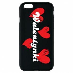 Etui na iPhone 6/6S Walentynki, z sercami