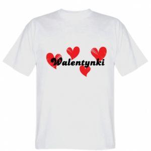 Koszulka Walentynki, z sercami