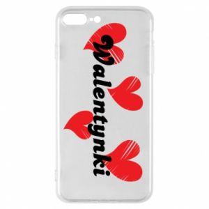 Etui na iPhone 8 Plus Walentynki, z sercami