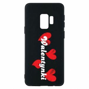 Etui na Samsung S9 Walentynki, z sercami