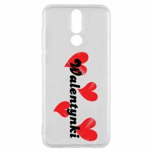 Etui na Huawei Mate 10 Lite Walentynki, z sercami