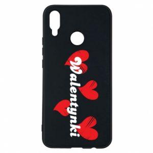 Etui na Huawei P Smart Plus Walentynki, z sercami