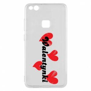 Etui na Huawei P10 Lite Walentynki, z sercami