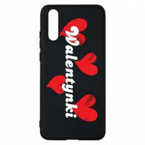 Etui na Huawei P20 Walentynki, z sercami