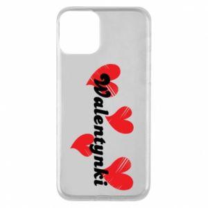 Etui na iPhone 11 Walentynki, z sercami