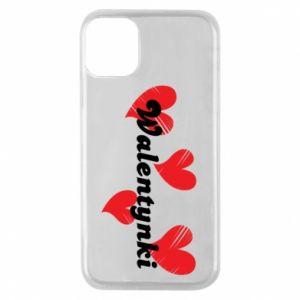 Etui na iPhone 11 Pro Walentynki, z sercami