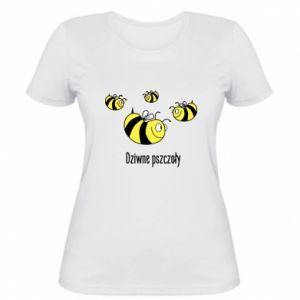 Damska koszulka Dziwne pszczoły