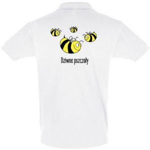 Koszulka Polo Dziwne pszczoły