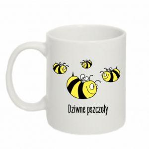 Kubek 330ml Dziwne pszczoły