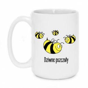 Kubek 450ml Dziwne pszczoły