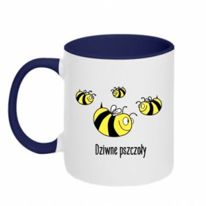 Two-toned mug Strange bees