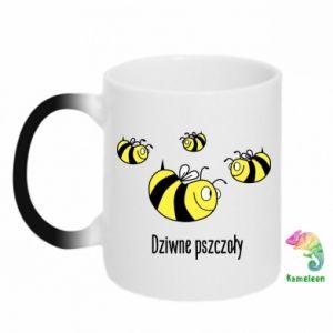 Kubek-kameleon Dziwne pszczoły