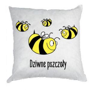 Poduszka Dziwne pszczoły