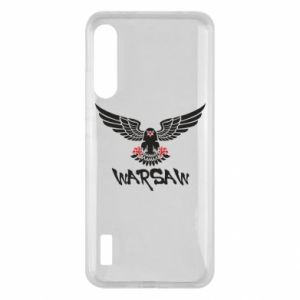 Xiaomi Mi A3 Case Warsaw eagle black ang red