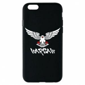 Etui na iPhone 6/6S Warsaw eagle black ang red