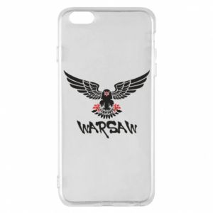 Etui na iPhone 6 Plus/6S Plus Warsaw eagle black ang red