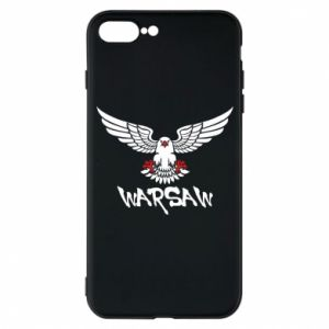Etui na iPhone 7 Plus Warsaw eagle black ang red