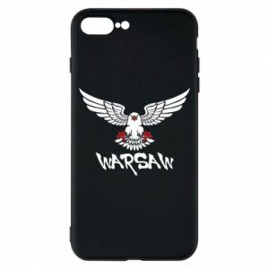 Etui na iPhone 8 Plus Warsaw eagle black ang red