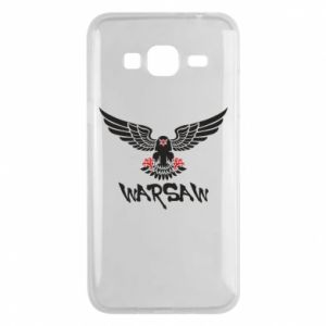 Etui na Samsung J3 2016 Warsaw eagle black ang red