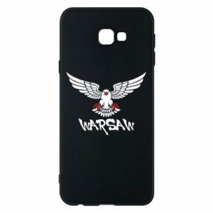 Etui na Samsung J4 Plus 2018 Warsaw eagle black ang red