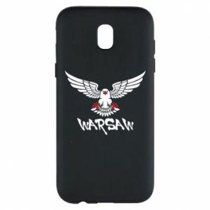 Etui na Samsung J5 2017 Warsaw eagle black ang red