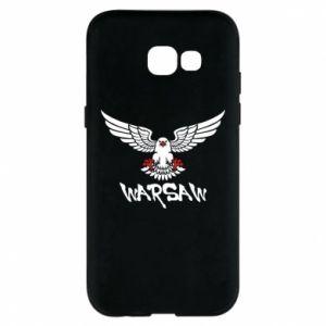 Etui na Samsung A5 2017 Warsaw eagle black ang red