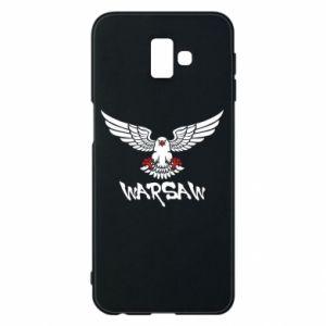 Etui na Samsung J6 Plus 2018 Warsaw eagle black ang red