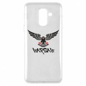 Etui na Samsung A6+ 2018 Warsaw eagle black ang red