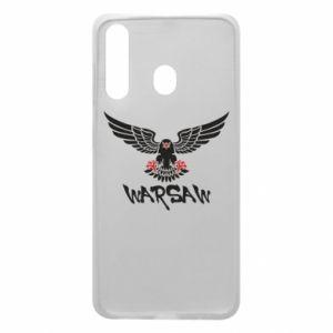 Etui na Samsung A60 Warsaw eagle black ang red