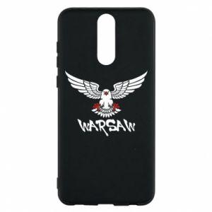 Etui na Huawei Mate 10 Lite Warsaw eagle black ang red