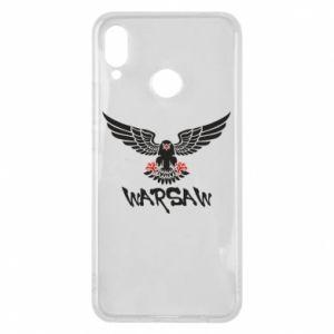 Etui na Huawei P Smart Plus Warsaw eagle black ang red