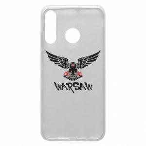 Etui na Huawei P30 Lite Warsaw eagle black ang red