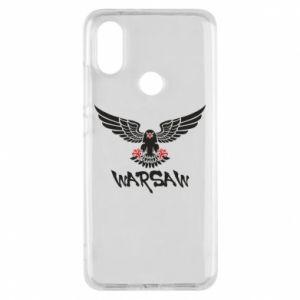 Etui na Xiaomi Mi A2 Warsaw eagle black ang red