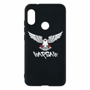 Etui na Mi A2 Lite Warsaw eagle black ang red