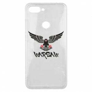 Etui na Xiaomi Mi8 Lite Warsaw eagle black ang red