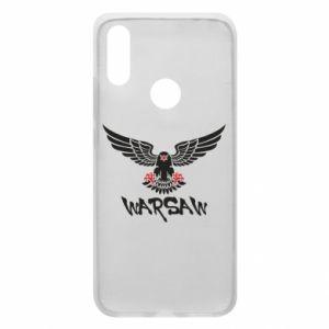 Etui na Xiaomi Redmi 7 Warsaw eagle black ang red