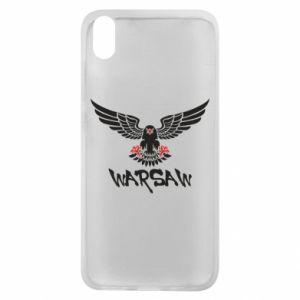 Etui na Xiaomi Redmi 7A Warsaw eagle black ang red
