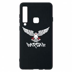 Etui na Samsung A9 2018 Warsaw eagle black ang red