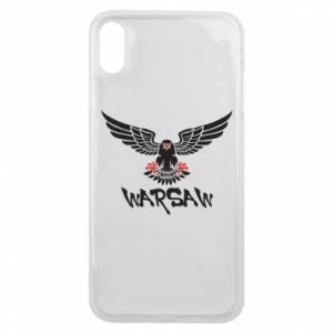 Etui na iPhone Xs Max Warsaw eagle black ang red