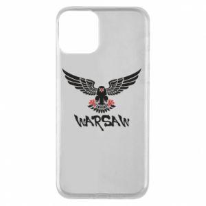 Etui na iPhone 11 Warsaw eagle black ang red