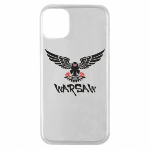 Etui na iPhone 11 Pro Warsaw eagle black ang red