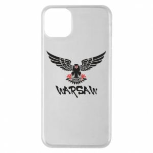 Etui na iPhone 11 Pro Max Warsaw eagle black ang red