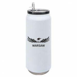 Thermal bank Warsaw eagle black or white