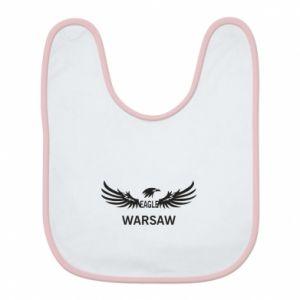 Bib Warsaw eagle black or white - PrintSalon