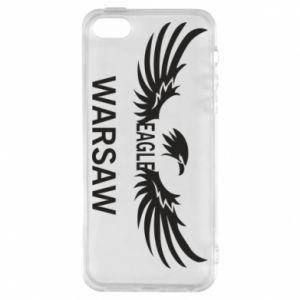 Phone case for iPhone 5/5S/SE Warsaw eagle black or white - PrintSalon