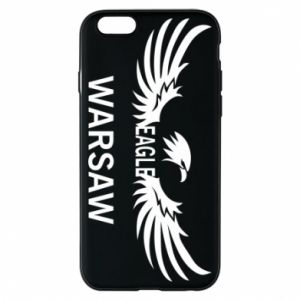 Phone case for iPhone 6/6S Warsaw eagle black or white - PrintSalon