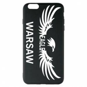 Phone case for iPhone 6 Plus/6S Plus Warsaw eagle black or white - PrintSalon