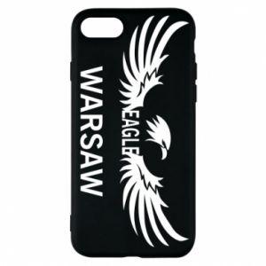 Phone case for iPhone 7 Warsaw eagle black or white - PrintSalon